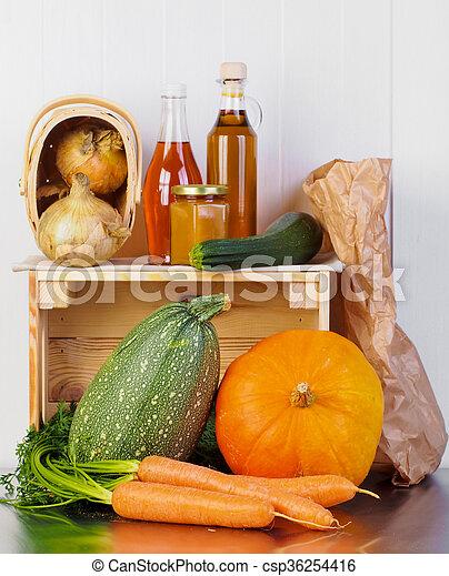 Autumn harvest - csp36254416