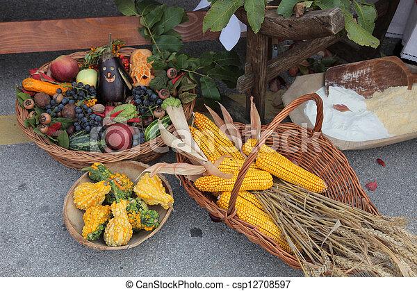 Autumn Harvest - csp12708597