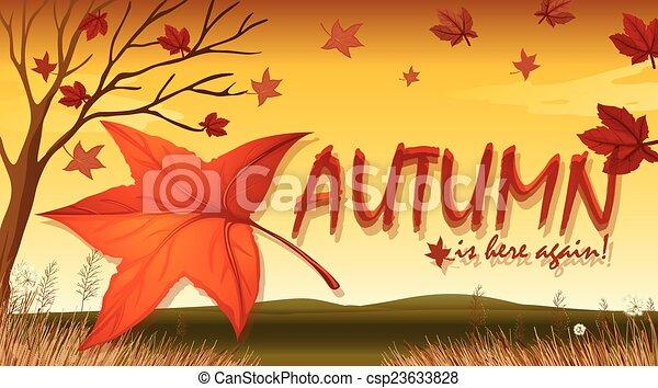 Autumn - csp23633828