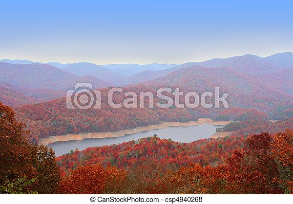 Autumn in Great Smoky Mountains, U - csp4940268