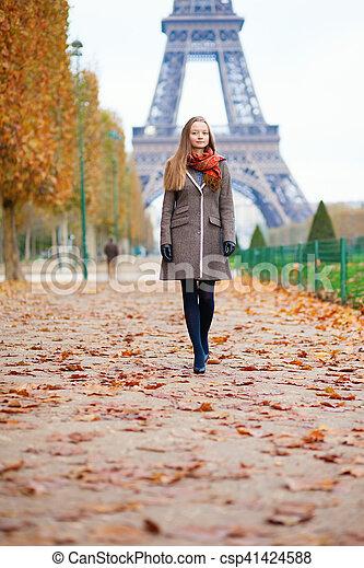 Autumn in Paris - csp41424588