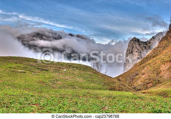 autumn in the mountain - csp23798768