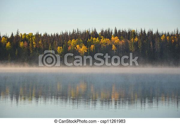 Autumn lake - csp11261983