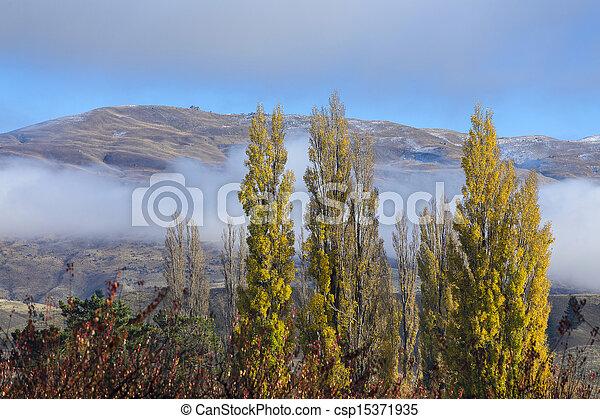 autumn landscape - csp15371935