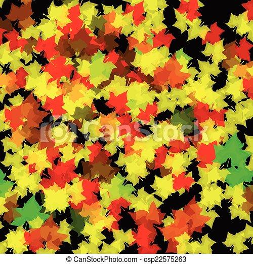 Autumn Leaves Background - csp22575263
