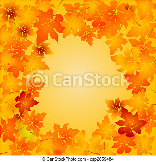 Autumn Leaves background - csp2659484