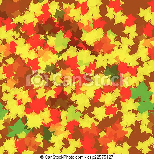 Autumn Leaves Background - csp22575127