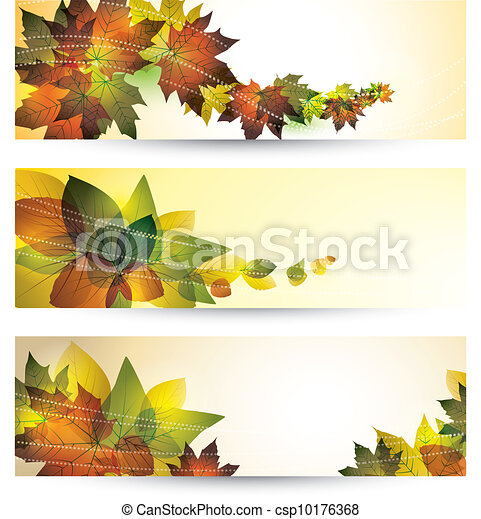 autumn leaves - csp10176368