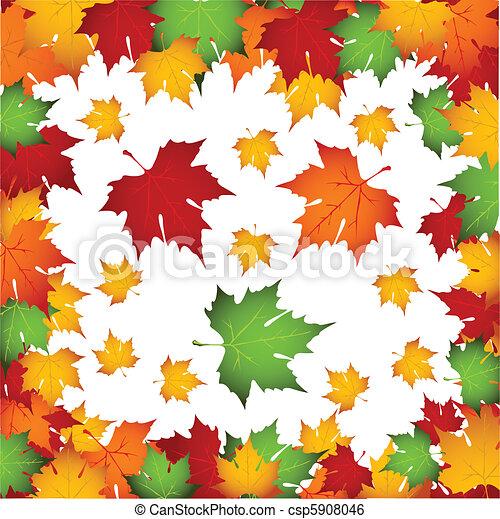 Autumn leaves - csp5908046