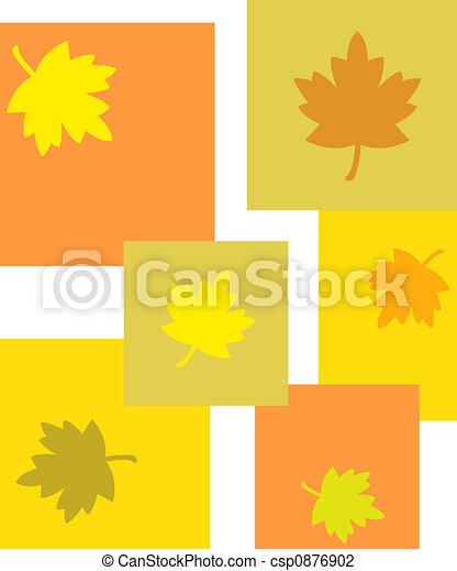 Autumn leaves - csp0876902