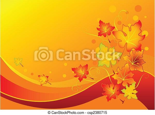 Autumn leaves - csp2380715