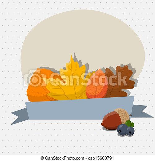 Autumn leaves - csp15600791