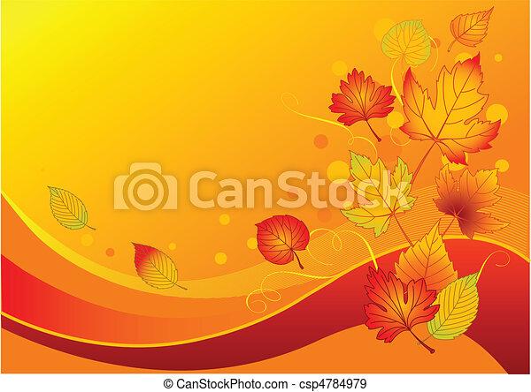 Autumn leaves - csp4784979