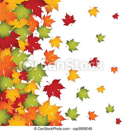 Autumn leaves - csp5908048