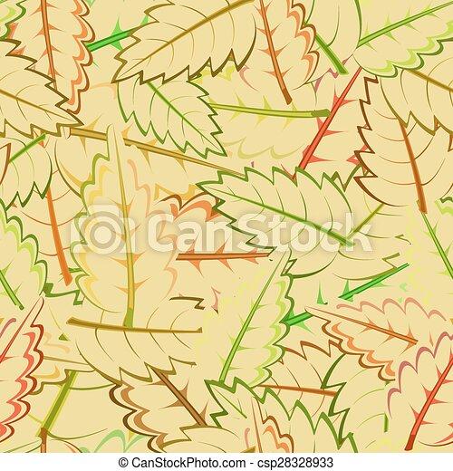 autumn leaves - csp28328933