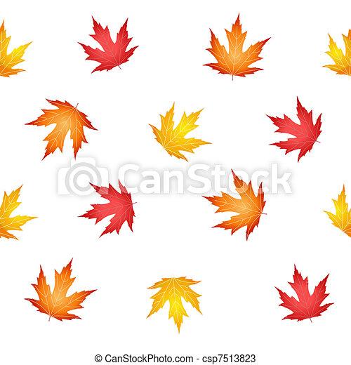 autumn leaves - csp7513823