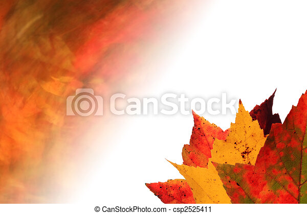 Autumn Leaves Faded Background Nature Autumn Abstract Blur Motion