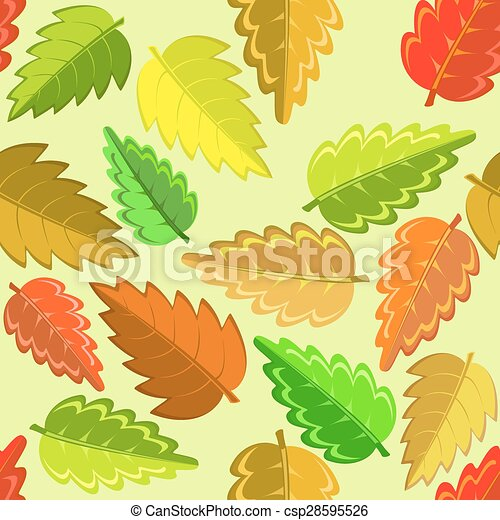 autumn leaves - csp28595526
