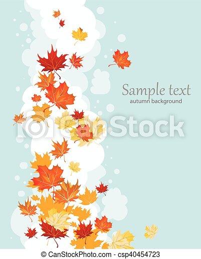 Autumn leaves - csp40454723