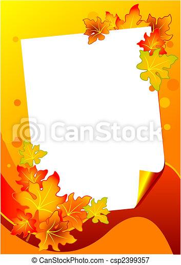 Autumn leaves - csp2399357
