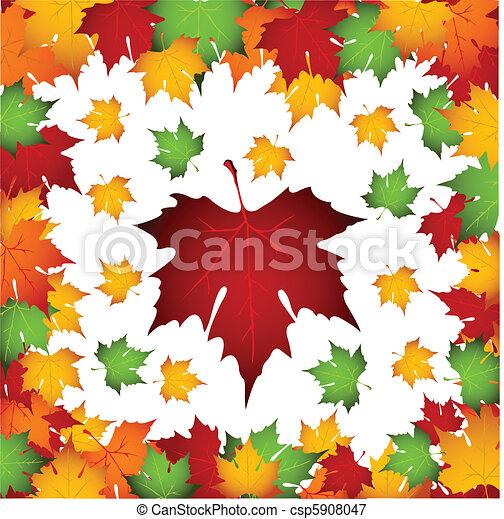 Autumn leaves - csp5908047