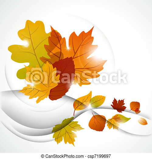 Autumn leaves - csp7199697