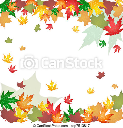 autumn leaves - csp7513817