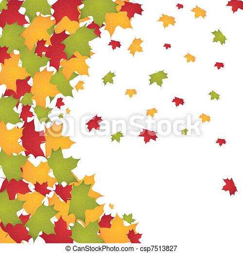 autumn leaves - csp7513827