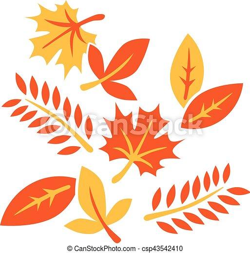 Autumn leaves - csp43542410