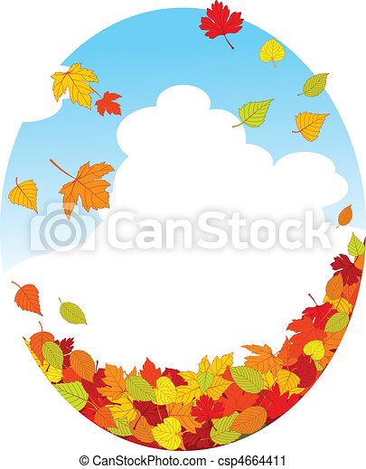 Autumn leaves - csp4664411