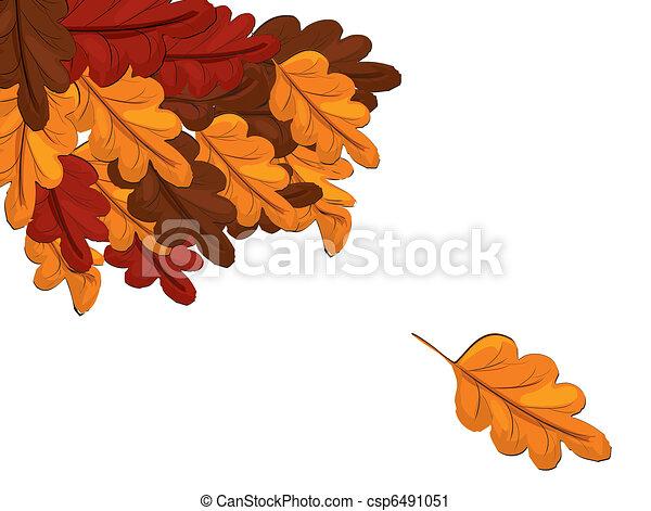 Autumn leaves  - csp6491051