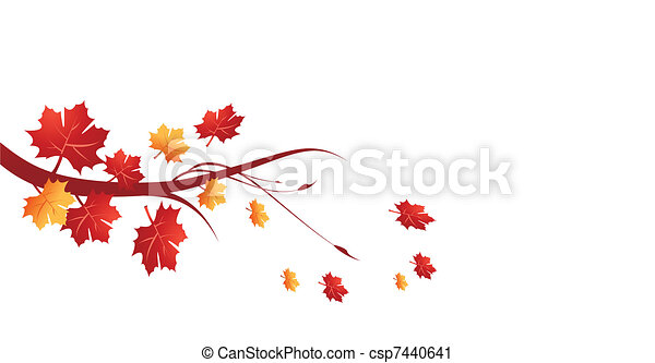 Autumn leaves - csp7440641
