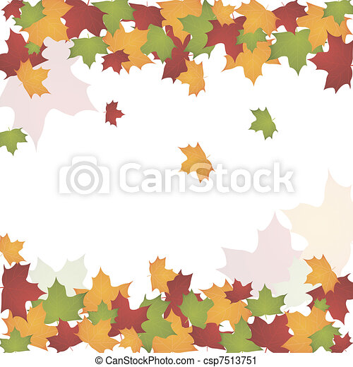 autumn leaves - csp7513751