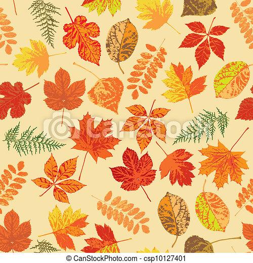 Autumn leaves - csp10127401