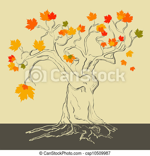 Autumn ltree - csp10509987