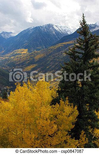 Autumn mountains - csp0847087