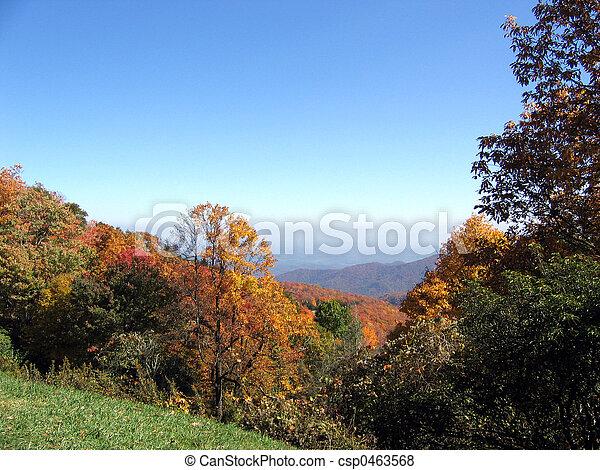 autumn mountains - csp0463568