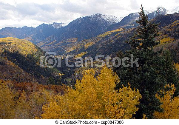 Autumn mountains - csp0847086