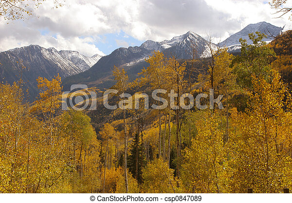 Autumn mountains - csp0847089