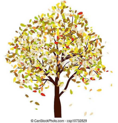 Autumn oak - csp10732829