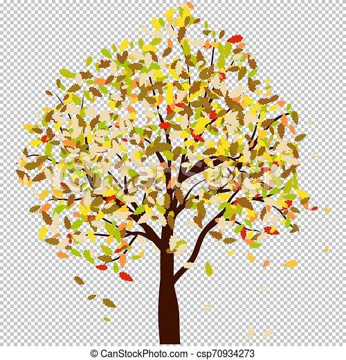 Autumn oak - csp70934273