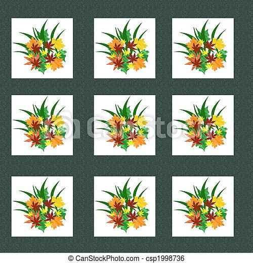 autumn pattern - csp1998736