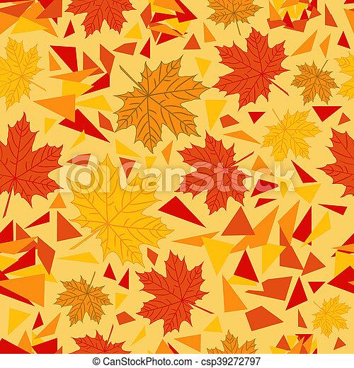 autumn pattern - csp39272797