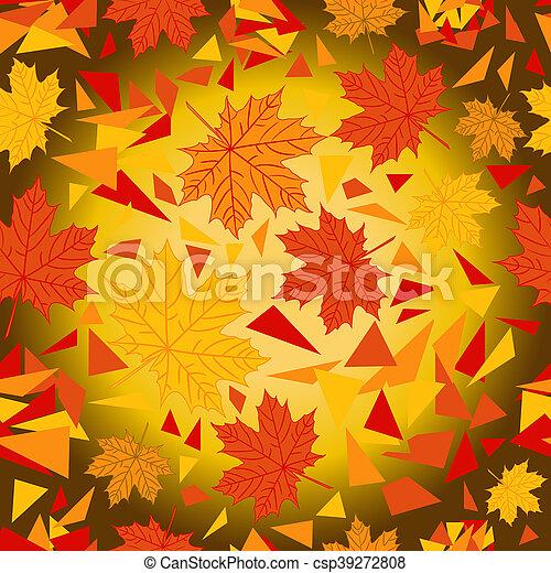 autumn pattern - csp39272808