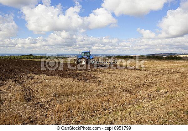 autumn plowing - csp10951799