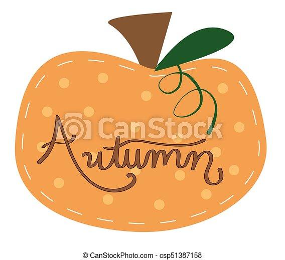 Autumn Pumpkin - csp51387158
