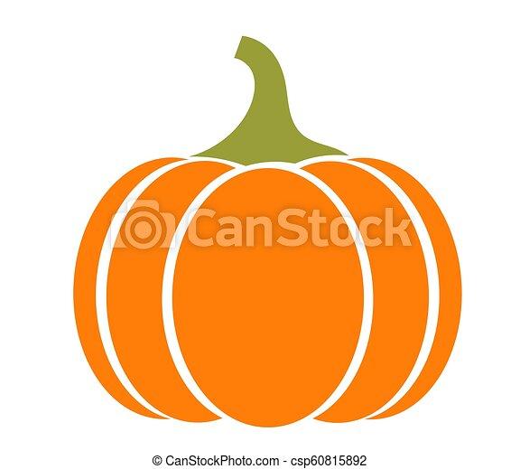 Autumn pumpkin icon - csp60815892