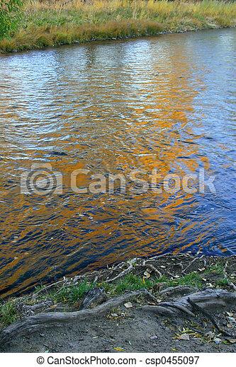 Autumn Reflections - csp0455097