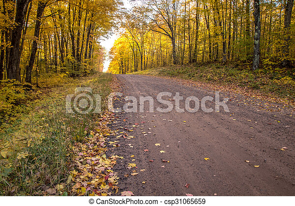 Autumn Road Trip - csp31065659