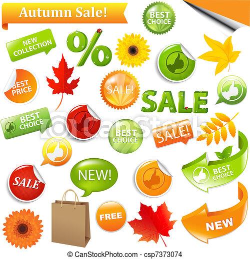 Autumn Sale - csp7373074